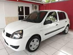 RENAULT CLIO CAMPUS 1.0 COM AR CONDICIONADO  2010