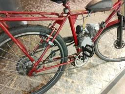 Bicicleta motorizada gasolina só $1100