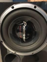Caixa alto falantes pioneer 1000 rms