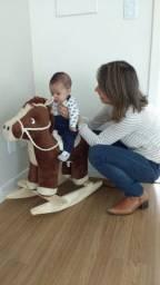 Cavalo/touro de balanço 120kg de peso, frete grátis!