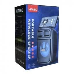Caixa De Som Bluetooth Com Suporte Para Celular Kimiso KM-1001