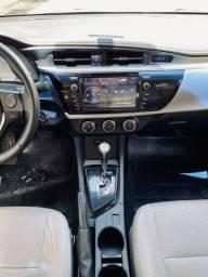 Vendo Corolla gli aut 2017 financio com nome limpo