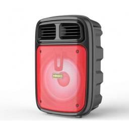 Caixa De Som Bluetooth Kimiso Com Suporte Para Microfone KM-3383
