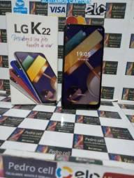 Vendo LG K22 de 32 gigas de memória