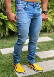 Calça masculina Jeans compatível Ellus do 38 ao 48
