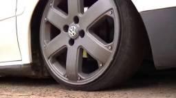 Rodas 17 mais pneus molas e escapamento