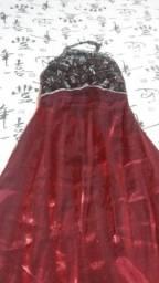Vestido para Festa em Tafeta