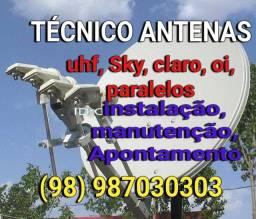 Antenista disponível