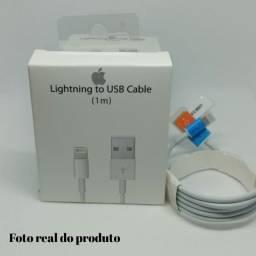 Cabo para iPhone Lightning USB Ft Original em Caixa Lacrada R$ 18,00