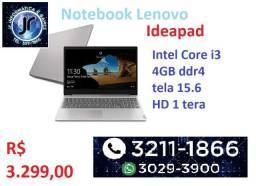 Notebook Lenovo - Ideapad - Core I3 - 4GB - hd 1 tera - tela 15.6