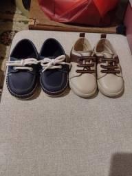 2 pares de sapato número 20