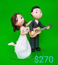 noivinhos para topo de bolo de casamento