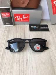 Título do anúncio: Óculos de sol Ray ban Chris degradê lentes polarizadas