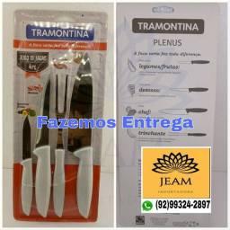 Kit de churrasco 4 Peças da Marca Tramontina