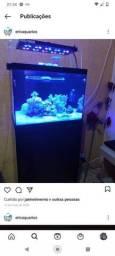 Título do anúncio: Aquário marinho 90 litros