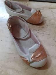 Sapatos feminino infantis
