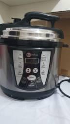Panela de pressão e panela de arroz elétrico