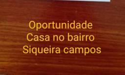 Casa 3/4 no Siqueira Campos ( leia a descrição)