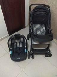 Carrinho+bebê conforto Burigotto touring