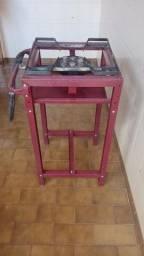 Fogão Semi-Industrial 1 Boca Master Alto com Mangueira e Registro