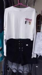 Bazar , croped, calçados , saias , shorts jeans