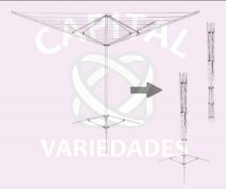 Título do anúncio: ((Produtos Novos)) Varal Giratório 11 cordas Galvanizado.