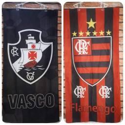 Toalhas de banho Flamengo e Vasco!