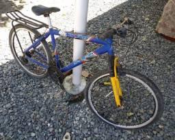 Bicicleta - quadro em alumínio