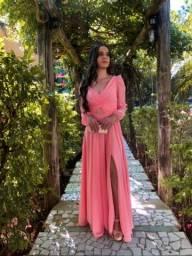Vestido Rose Madrinha de Casamento