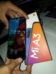 Celular Xiaome Mi A3 NOVO COM FONE