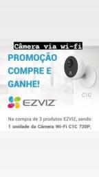 Câmera via wi-fi