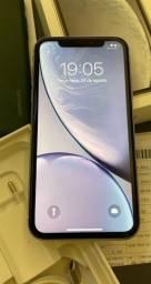 Título do anúncio: Iphone Xr 128gb Branco./aceito troca em 7 ou superior.