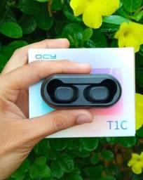 Promoção Fone de ouvido Bluetooth QCY T1c