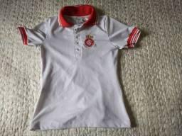 camisa polo sport club internacional infantil