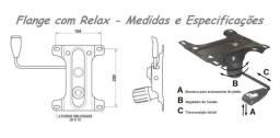 Título do anúncio: Flange Mecaniscmo Com Relax Para Cadeira Diretor, Presidente