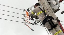 Eletricista Profissional Eletrotécnico Roberto + Poste de Aço Galvanizado