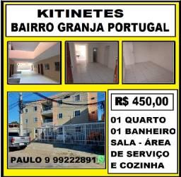 PW: Alugo Kitnet no Bairro Granja Portugal, Não Paga Condomínio 9  *