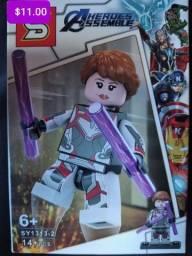 Título do anúncio: Super heróis Blocos de montar Similar aos lego