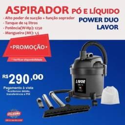 Título do anúncio: Aspirador de Pó e Líquidos Power Duo