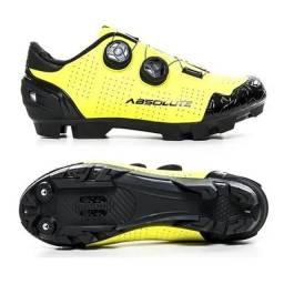 Sapatilha Bike Mtb Ciclismo Prime Amarelo Fluorescente 41Br