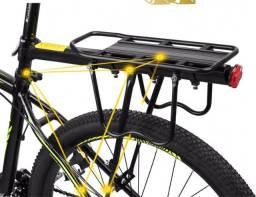 Bagageiro para Bicicleta Traseiro em Alumínio de alta resistência para bicicletas