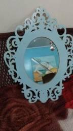 Título do anúncio: Vendo espelho com armação de MDF