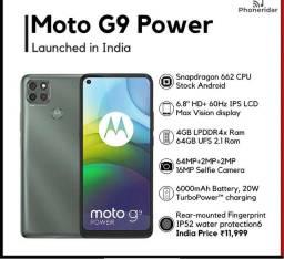 Lacrado Moto G9 Power 128GB Com Nota Fiscal