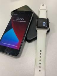 Título do anúncio: Kit iPhone 6s 32gb Apple Watch série 1