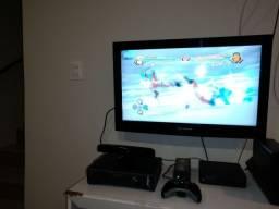 Xbox 360 Elite - Desbloqueado LT3.0 + Kinect + 2 Manetes