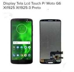 Título do anúncio: Display Moto G6 xt1925 Promoção
