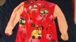 Pijama Fleece Feminino G
