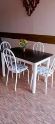 Título do anúncio: mesas de marmore com 4 cadeiras 450 entrero