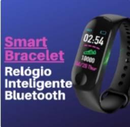 Relógio Inteligente Bluetooth + FRETE GRÁTIS!!!