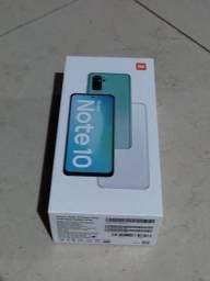 Redmi Note 10 com fone Bluetooth de brinde
